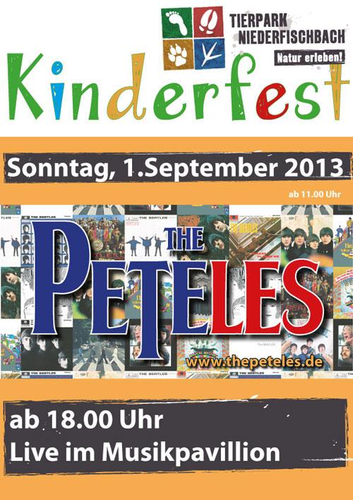 Kinderfest mit Beatles-Konzert im Tierpark