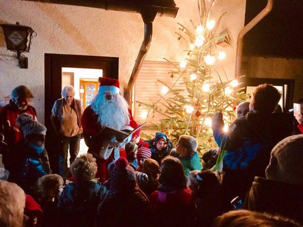 Am 06. Dezember kommt der Nikolaus in den Park