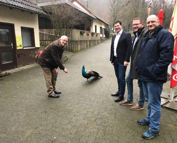 Fördermöglichkeiten ausgelotet – Tierpark Niederfischbach will sich weiterentwickeln